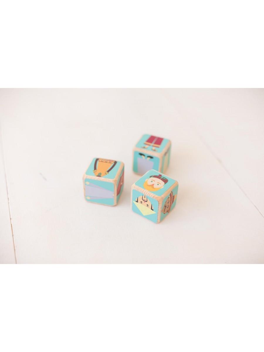 Handmade baby block set
