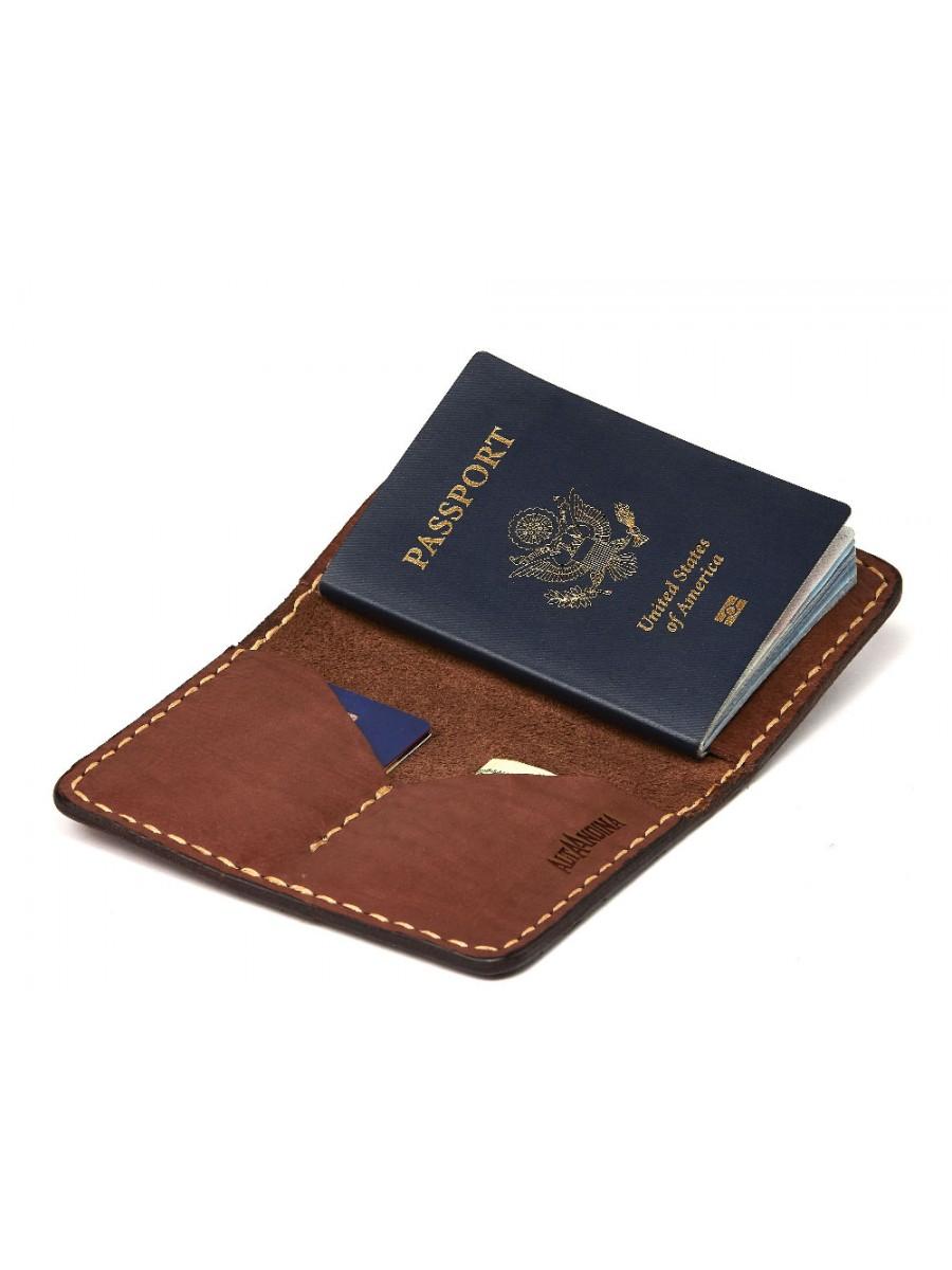 Handmade passport holder